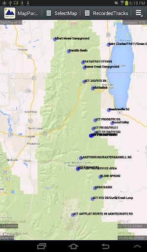 MapPack GPS Navigator WASATCH
