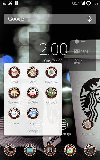Starbucks Old Apex Nova theme