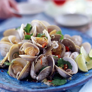 Clams with Lemongrass and Chiles.