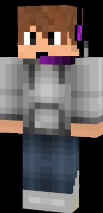 Minecraft steve hoodie