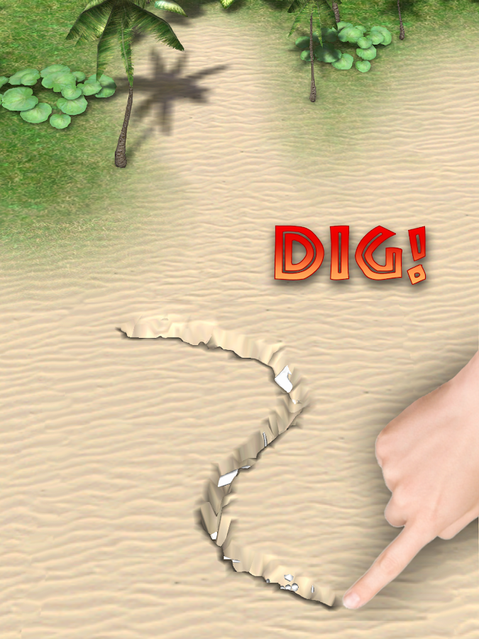 Dino Digger - screenshot