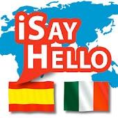 iSayHello Spanish - Italian