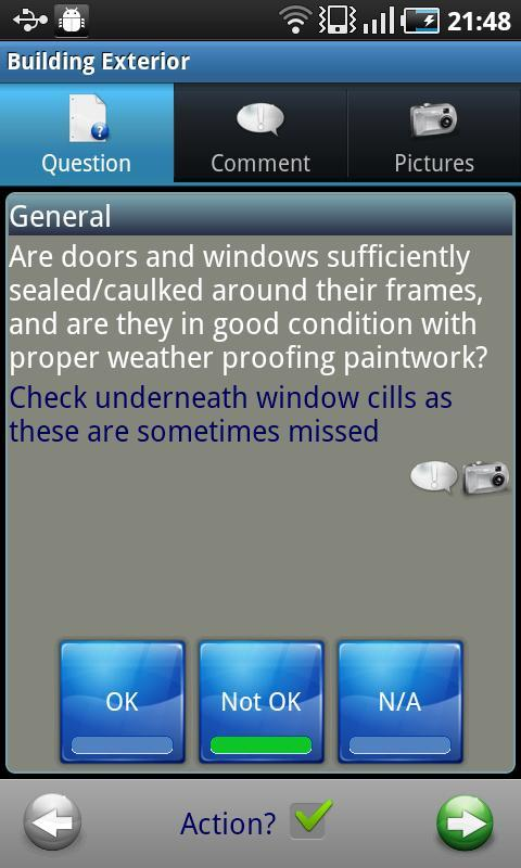 Homebuyer Inspection - screenshot