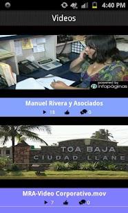 MRA Manuel Rivera y Asociados- screenshot thumbnail