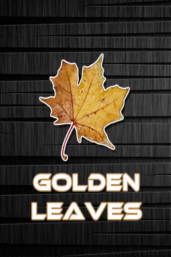 Golden Leaves Live Wallpaper