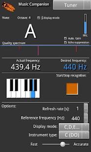 Music Companion Lite- screenshot