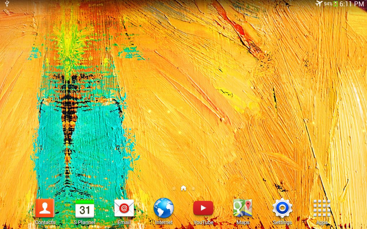 Galaxy Note 3 Live Wallpaper - screenshot