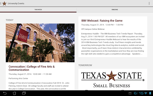 Texas State Mobile - screenshot thumbnail