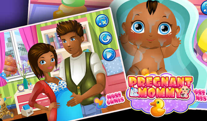 Baby and Mommy 2 - screenshot