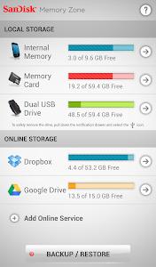 SanDisk Memory Zone v3.0.1