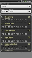 Screenshot of Fantasy Football Monitor 4 NFL