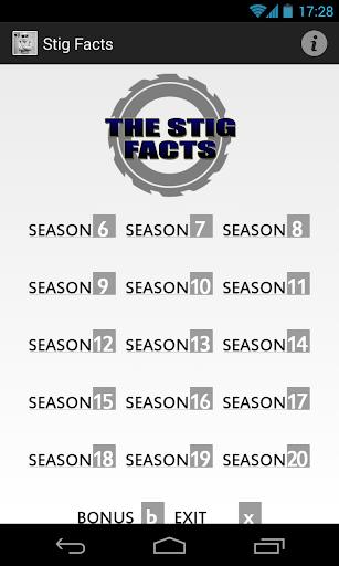 The Stig Facts Soundboard