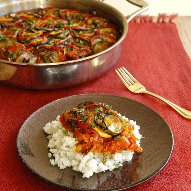Spicy Smoky Ratatouille Casserole Recipe