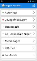 Screenshot of Niger Actualités