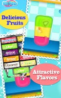 Screenshot of Ice Pops Maker Salon