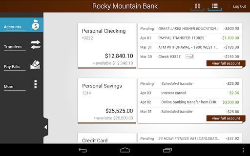 【免費財經App】Rocky Mountain Bank-APP點子
