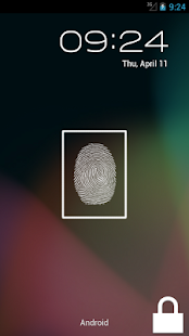 Fake Finger Scanner - screenshot thumbnail