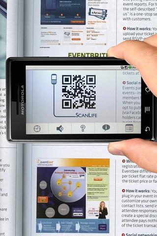 Leitor Vivo: QR Codes - screenshot