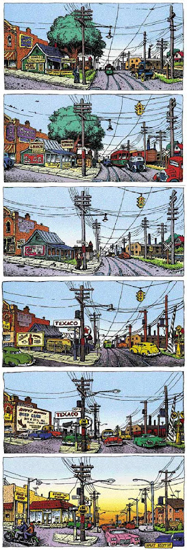 A Short History of America Part 2 by Robert Crumb.