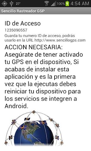 Sencillo GPS