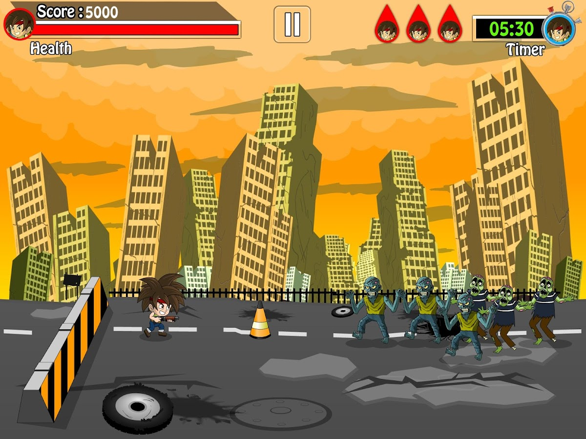 Zombie Attack Arcade Pro Game- screenshot