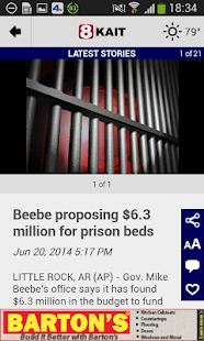 KAIT Region 8 News - screenshot thumbnail