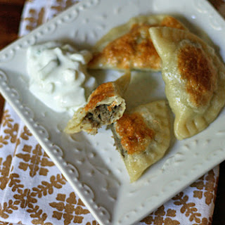 Lamb and Potato Pierogies