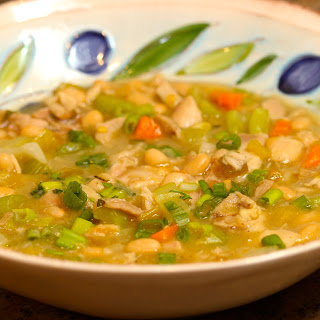 Green Chili Chicken with Beans