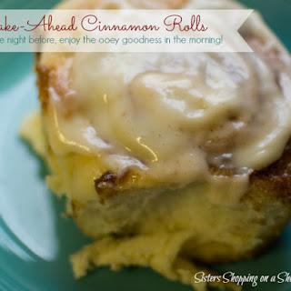 Make-Ahead Overnight Cinnamon Rolls