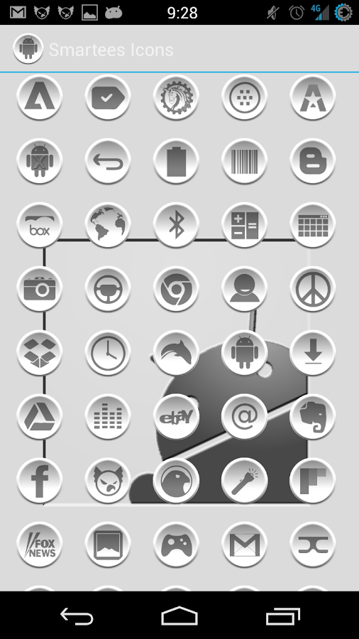 Smartees Icon Pack - screenshot
