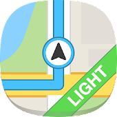 GPS Navigation & Maps - light