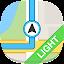 GPS Navigation & Maps - light