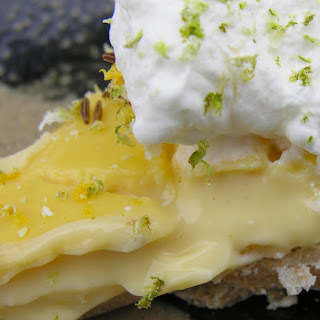 Rustic Key Lime Pie, From The Land Of Yogurt And Honey.