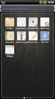 Screenshot of Glass GO SMS Theme