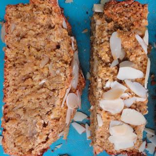 Oat Flour Vegan Pumpkin Banana Bread.
