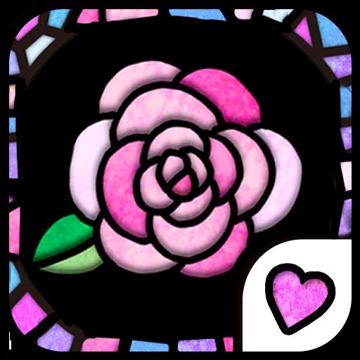 个人化の可爱的换肤壁纸★Stained Glass LOGO-記事Game