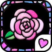 Cute wallpaper★Stained Glass