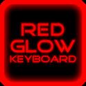 Red Glow Keyboard Skin Pro icon