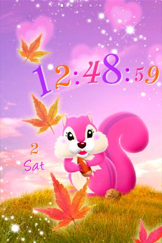 Squirrel ライブ壁紙