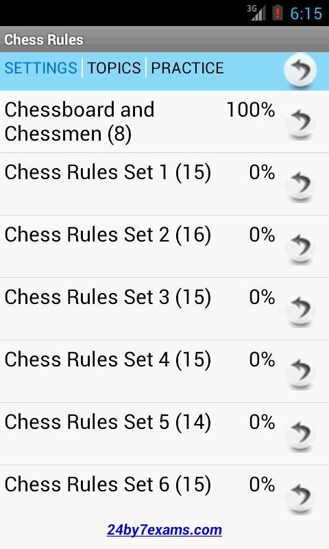 Chess Rules by 24by7exams - Android Apps on Google Play