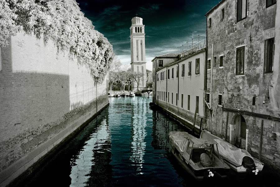 Venice Dream by Jernej Lah - Buildings & Architecture Public & Historical ( ir, venice, fake, italy, manipulation )
