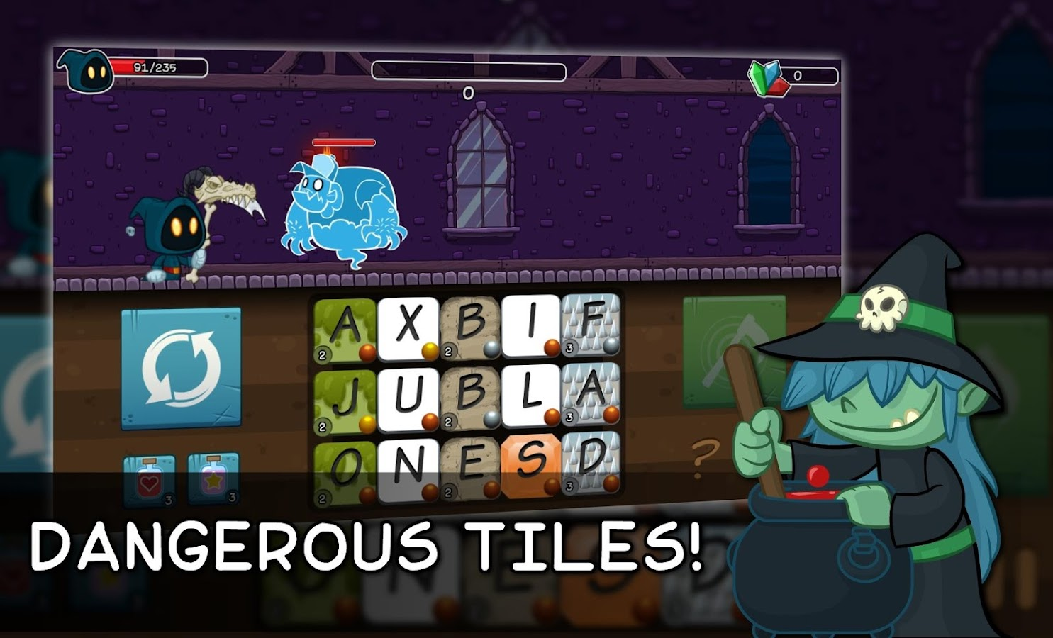 Letter Quest: Grimm's Journey- screenshot