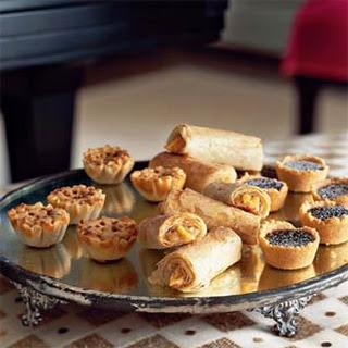 Mini Mocha-Toffee Crunch Cheesecakes.