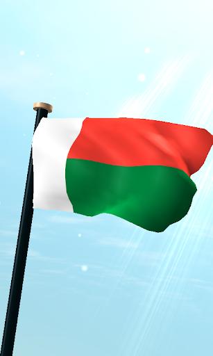 馬達加斯加旗3D免費動態桌布