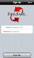 Screenshot of FailSafe