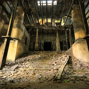 Heritage Kolkata by Kunal Karmakar - Buildings & Architecture Decaying & Abandoned ( heritage kolkata, old calcutta, old kolkata, old building, heritage calcutta )
