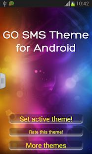 GO短信主題為Android