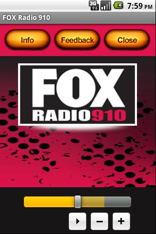 FOX Radio 910- screenshot