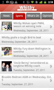 Whitby This Week - screenshot thumbnail