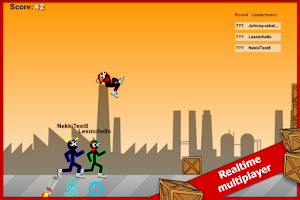 Screenshot of Stick Run Mobile